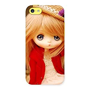 Tiny Bride Girl Multicolor Back Case Cover for iPhone 5C