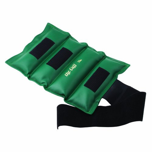 Cando-10-0219-Green-Cuff-Weight-for-Ankle-or-Wrist-25-lbs