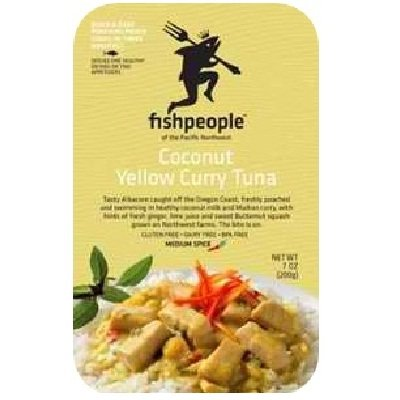 Fishpeople Albacore Tuna In Coconut Yellow Curry, 7 Ounce