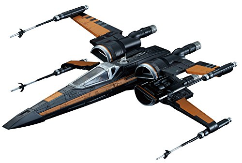 Star Wars 1/72 X-wing fighter Poe dedicated machine Plastic
