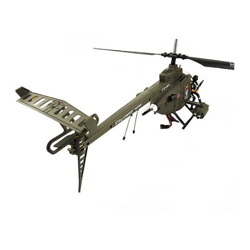 Huges Defender 3 Channel Remote Controlled Indoor Helicopter Built-in Gyroscope YD-911 (18