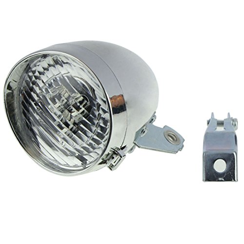 atdoshop-retro-bicycle-bike-accessory-front-light-bracket-vintage-3led-headlight-silver