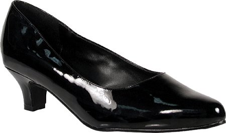 Pleaser Women's Fab 420W Dress Shoes,Black Patent,13 W US