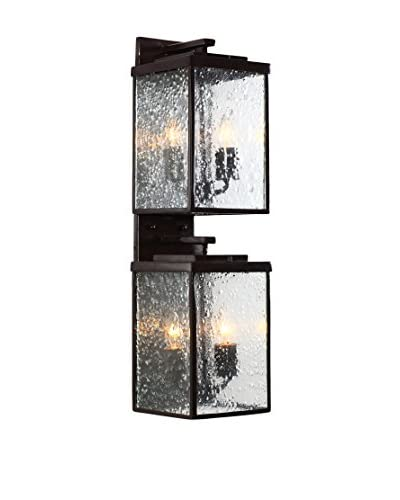 Varaluz Mission You 4-Light Wall Mounted, Glossy Bronze