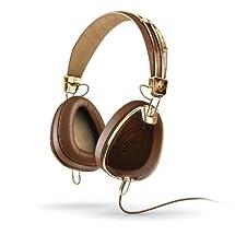 Skullcandy ROC NATION Aviator Brown/Gold (S6AVDM-090) Over-ear Headphones with In-line Mic
