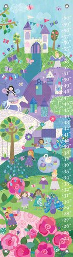 Oopsy Daisy Enchanted Land by Jill McDonald Growth Charts, 12 by 42-Inch
