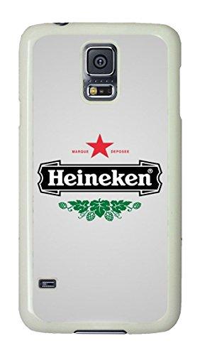 Samsung Galaxy S5 Case, S5 Case - Drop Protection Hard Case for Samsung Galaxy S5 Heineken Logo Scratch-Resistant White Hard Back Case for Samsung Galaxy S5 (Galaxy S5 Heineken Case compare prices)