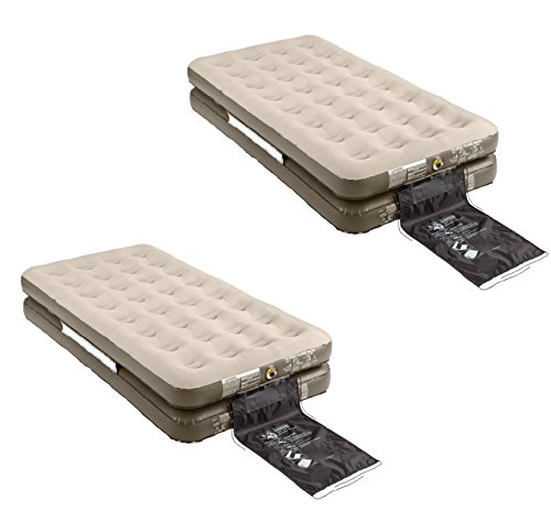 (2) Coleman 4 in 1 Quickbed AirBed Mattresses | 2000014922 (Coleman Air Mattress King compare prices)