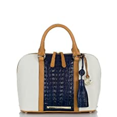 Vivian Dome Satchel - Lady Vineyard