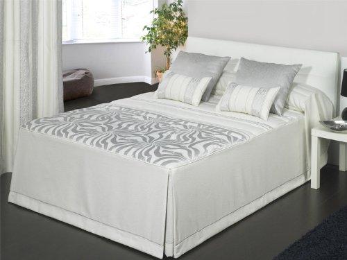 Colcha edredón Diamond - cama 150 cm - Plata