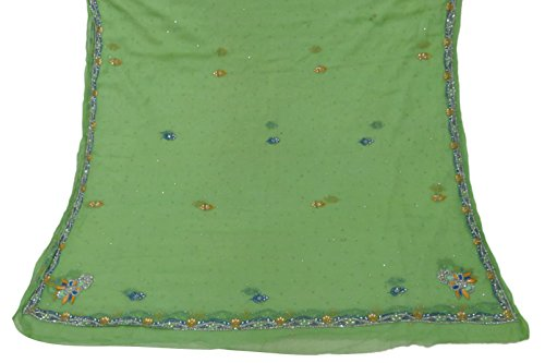 jahrgang-dupatta-stola-reine-chiffon-silk-grune-schals-gestickte-kunst-schleier-hijab