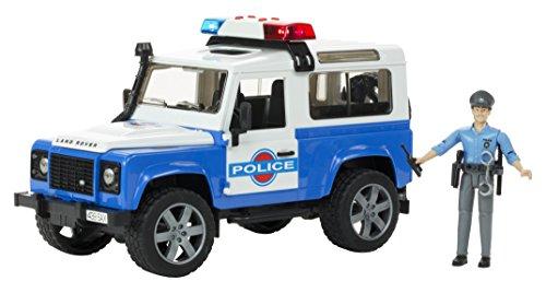 bruder-macchinina-land-rover-defender-della-polizia-con-poliziotto-ed-effetti-sonori-e-luminosi