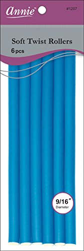 Annie Soft Twist Rollers, Blue annie s promise