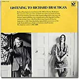 [Vinyl record]: Listening to Richard Brautigan