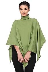 KAARYAH - Green Full Sleeves Relaxed Fit Cardigan