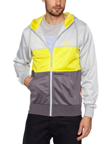 Gio Goi Reem Men's Sweatshirt Mist Grey Medium