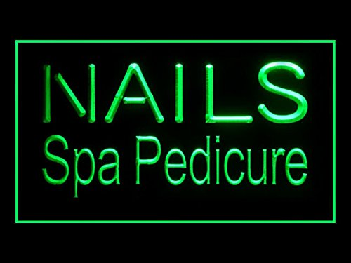 C B Signs Beauty Salon Nails Spa Pedicure Led Sign Neon Light Sign Display