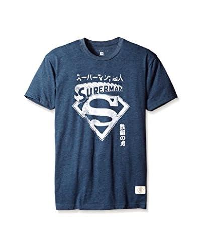 Kinetix Men's Superman Kanji Short Sleeve T-Shirt