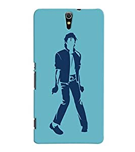 ColourCrust Sony Xperia C5 /Ultra Dual Sim Mobile Phone Back Cover With Michael Jackson - Durable Matte Finish Hard Plastic Slim Case
