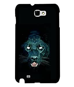 printtech Black Panther Back Case Cover for Samsung Galaxy Note 2::Samsung Galaxy Note 2 N7100