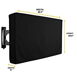CISNO Outdoor TV Cover Weatherproof 46\