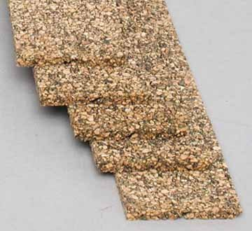 Midwest Products 3021 5-Pack Railroad Cork N Roadbed - 1