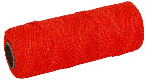 MARSHALLTOWN The Premier Line ML588 Mason's Line 1000-Foot Fluorescent Orange Twisted Nylon