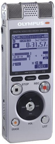Olympus 142665 DM-620 SLV Voice Recorder