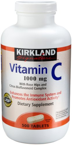 Kirkland Vitamin C with Rose Hips and Citrus Bioflavonoid Complex