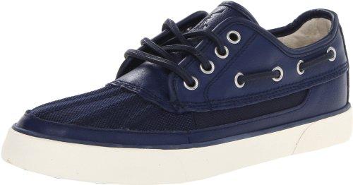 Polo Ralph Lauren Men'S Parkstone Low Fashion Sneaker,Newport Navy/Navy Nylon,10.5 M Us