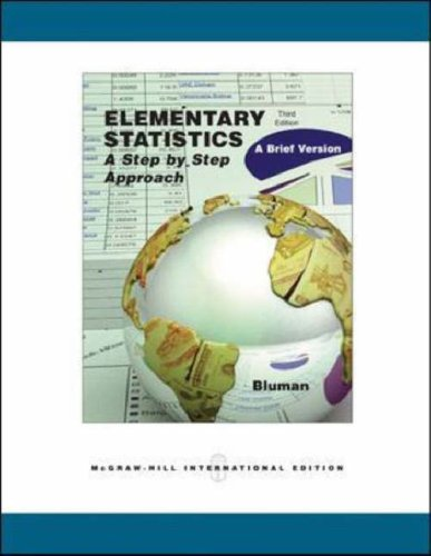 Elementary Statistics: With Mathzone: A Brief Version