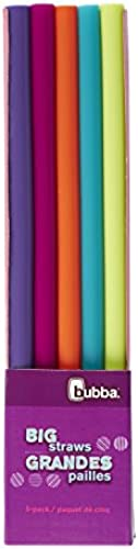 Bubba-Big-Straw-Reusable-Straws-Assorted-Bold-Colors-by-Bubba-Brands
