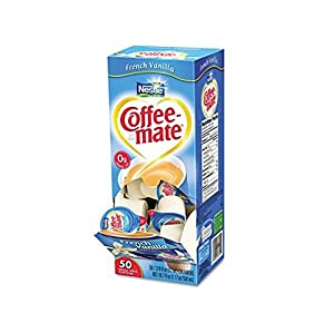 Coffee-mate French Vanilla Creamer, .375 oz., 50 creamers/box