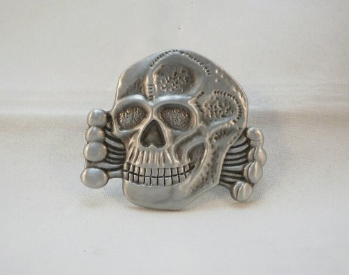 German WWII Totenkopf pin reproduction The Original Death Head