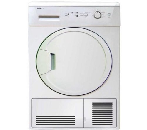 Beko DCU8230 Freestanding White Condenser Tumble Dryer
