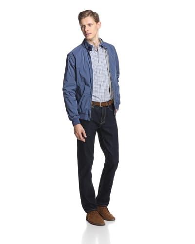 Ben Sherman Men's Raglan Sleeve Jacket  [Crown Blue]