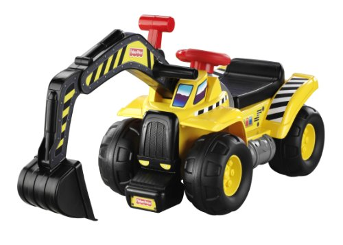 Construction Riding Toys For Boys : Fisher price big action dig n ride rc excavators and toys