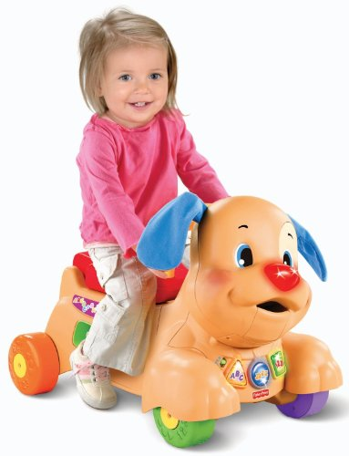 Cheapest Prices! Fisher-Price Laugh and Learn Stride-to-Ride Puppy
