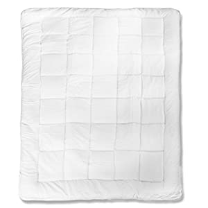 aqua-textil 10569 Ganzjahresdecke Bettdecke 135x200 Steppbett / Steppdecke Microfaser Soft Touch kochfest 90°