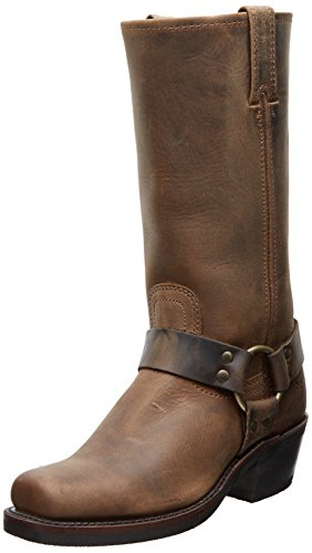 FRYE Women`s Harness 12R Boot, Tan Crazy Horse, 8.5 M US