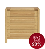 Sonoma Light 4 Drawers Chest