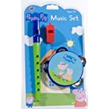 Peppa Pig Music Set Tambourine Flute Whistle
