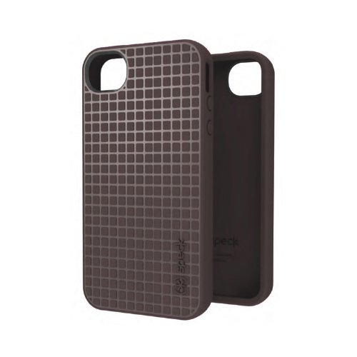 Speck Products SPK-A0782 PixelSkin HD Case for iPhone 4S -  1 Pack - Retail Packaging - Soot