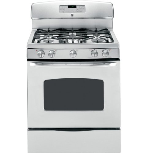 "Ge® Jgb810Setss 30"" Free-Standing Gas Range Stainless ""Out Of Box"""