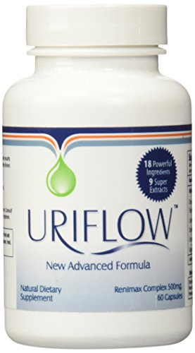 Uriflow Natural Treatment for Kidney Stones 1 - 60 Capsule Bottle