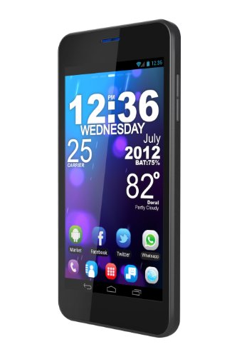 BLU Vivo 4.65 HD D930a Unlocked Phone with 4.65-Inch Super AMOLED Plus Display, Dual SIM 3G 850/1900, Dual Core 1.2GHz Processor, Android 4.0 ICS, and 8 MP Camera - US Warranty
