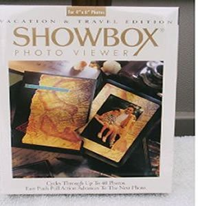 Warrens World SHOWBOX PHOTO VIEWER Vacation & Travel Edition Showbox Photo Viewer