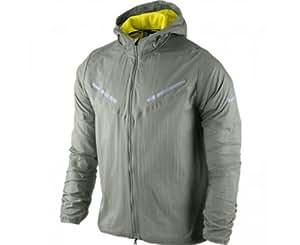 NIKE Men's Cyclone Jacket, Grey, L