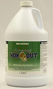 Nok-Out Odor Eliminator and Sanitizer, gallon jug