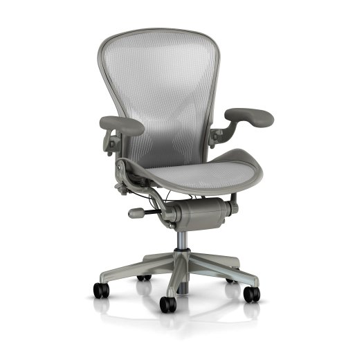 aeron chair by herman miller size b medium highly